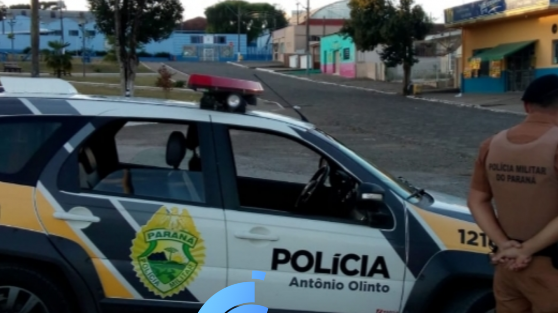 PM de Antônio Olinto atende acidente no interior