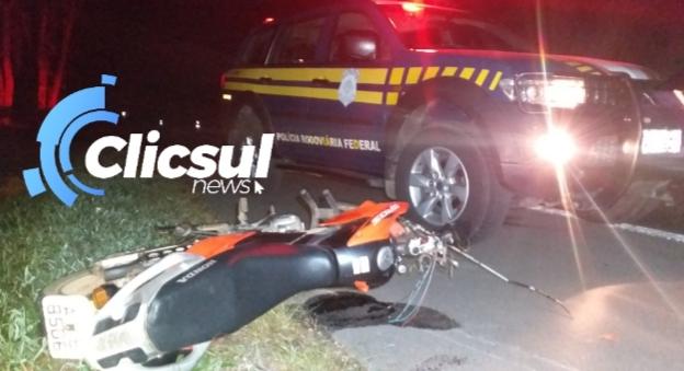 (São Mateus do Sul) Motociclista morre em acidente na BR 476