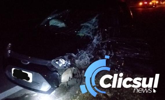 Acidente grave na rodovia do xisto BR 476 trecho entre São Mateus do Sul e Lapa