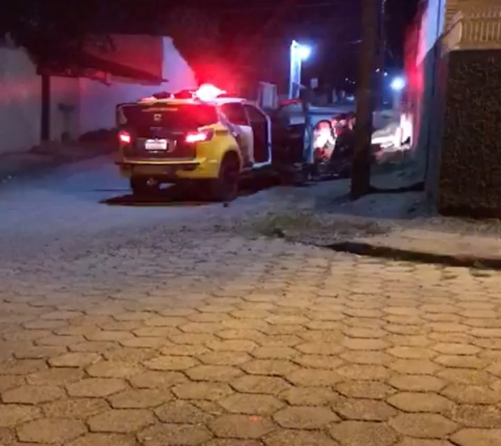 Motociclista é detido na Lapa após acompanhamento policial