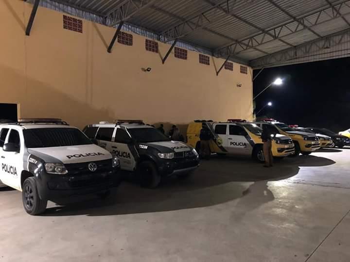 POLICIA MILITAR E POLÍCIA CIVIL REALIZAM OPERAÇÃO CONJUNTA EM IRATI