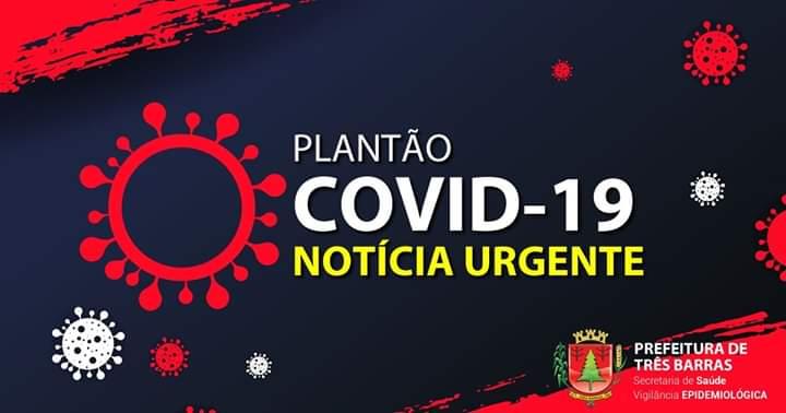 TRÊS BARRAS CONFIRMA MAIS 46 CASOS POSITIVOS DE COVID-19