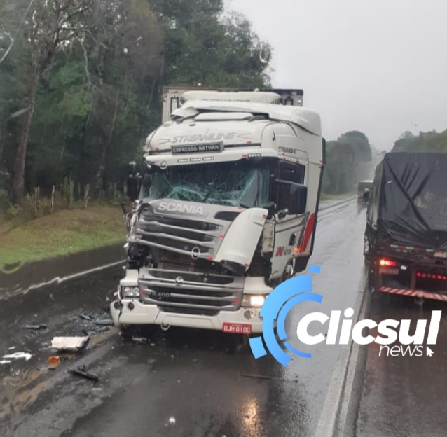 Mais um acidente na Rodovia do Xisto BR 476
