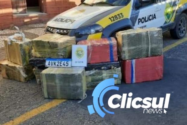 AÇÃO POLICIAL RESULTA NA PRISÃO DE DOIS HOMENS E APREENSÃO DE MAIS DE 400 Kg DE MACONHA EM PALMEIRA.