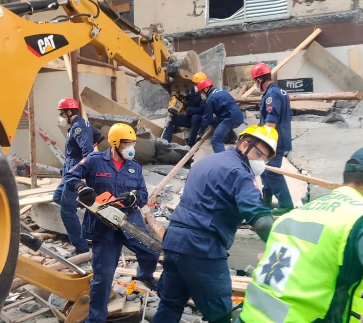 Dois trabalhadores morrem em desabamento em Itapema. Um deles é ex-morador de São Mateus do Sul