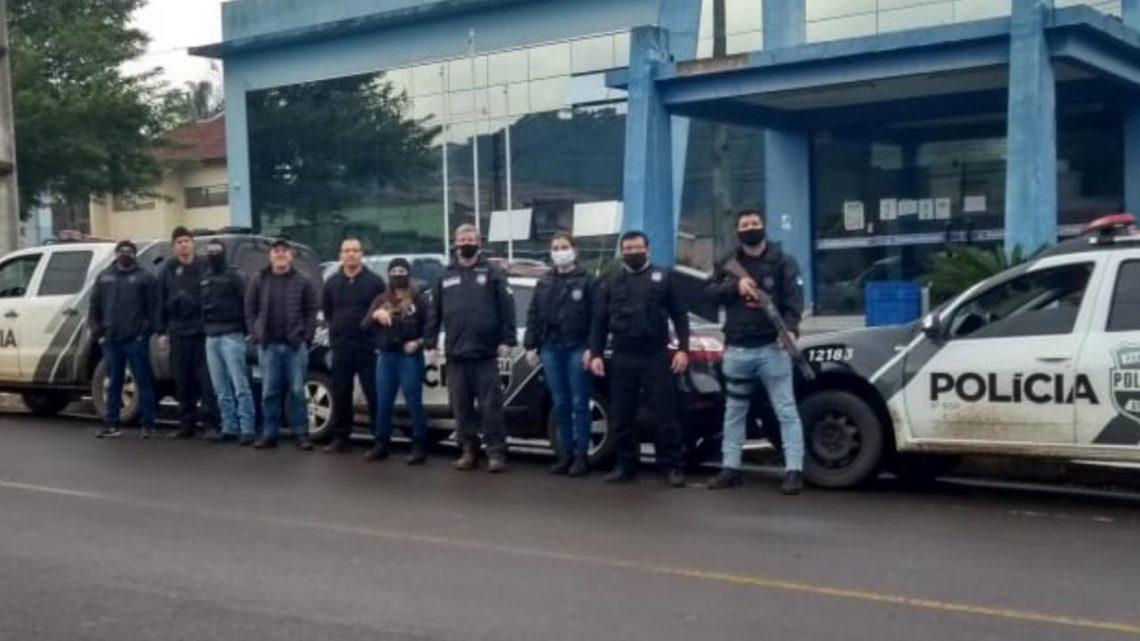 POLÍCIA CIVIL REALIZA OPERAÇÃO EM CRUZ MACHADO
