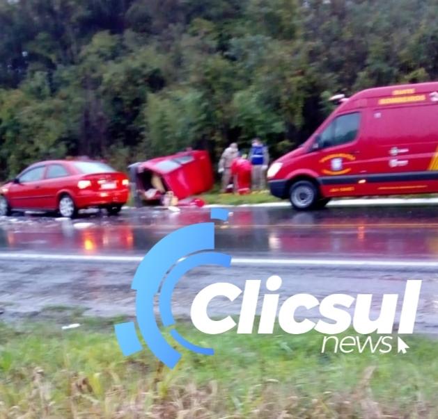 Criança morre em acidente na BR 476
