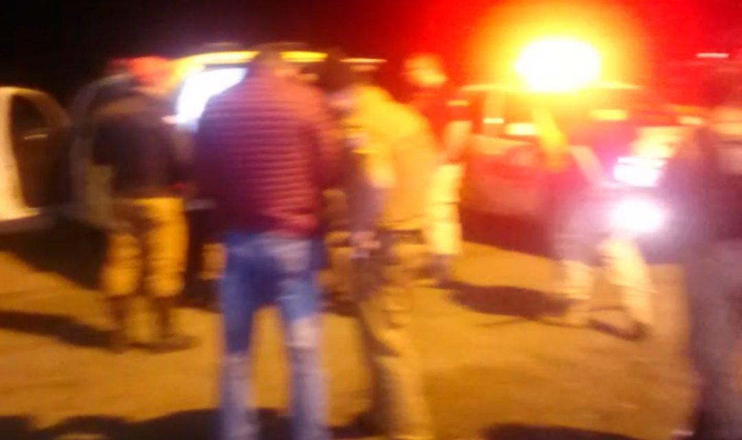 Durante assalto em restaurante de São Mateus do Sul Instrutor de Armamento e  Tiro mete bala em assaltantes