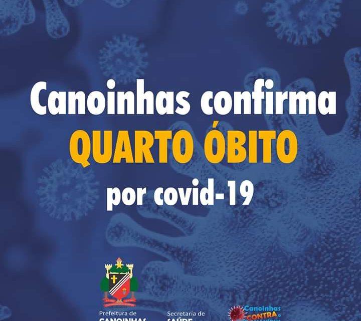 Canoinhas confirma quarto óbito por covid-19