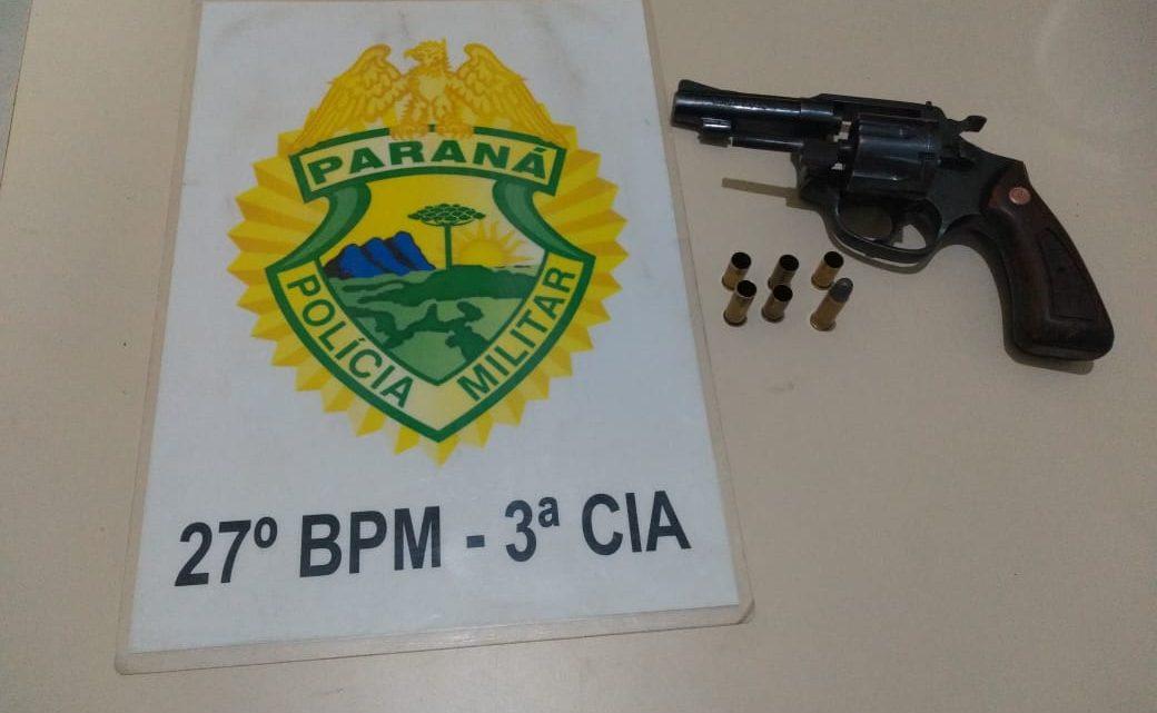 Menor é apreendido pela PM após efetuar disparos de arma de fogo contra homem na Vila Bom Jesus