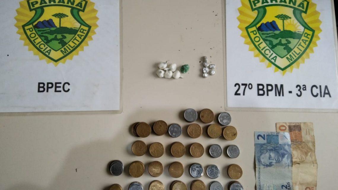 Policia Militar desmonta ponto conhecido das equipes por  tráfico de drogas em São Mateus do Sul