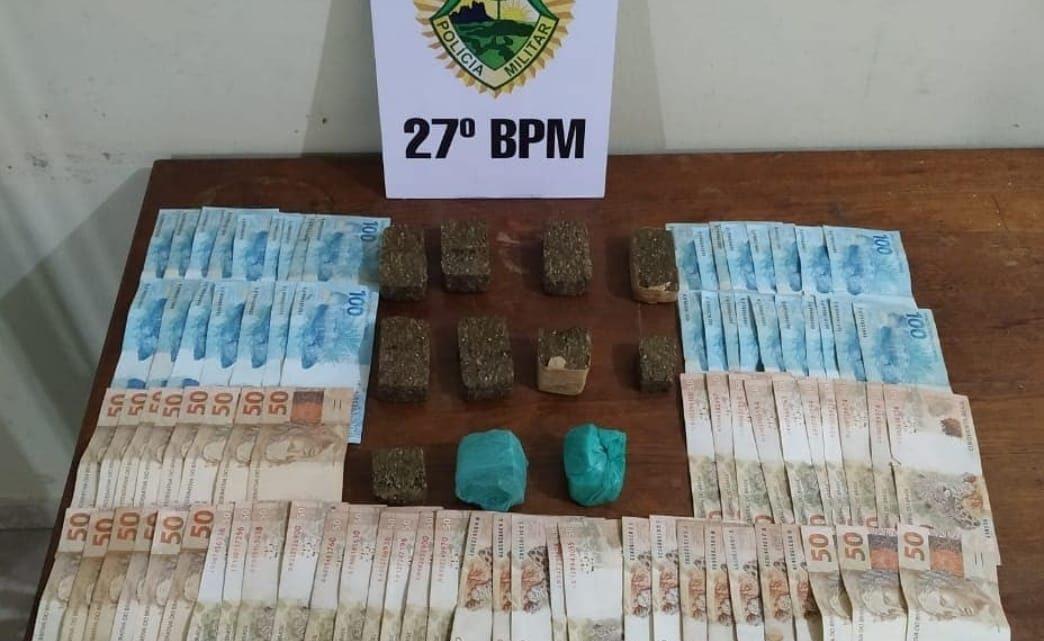 ROTAM DESMONTA GRANDE PONTO DE TRAFICO DE DROGAS EM SÃO MATEUS DO SUL
