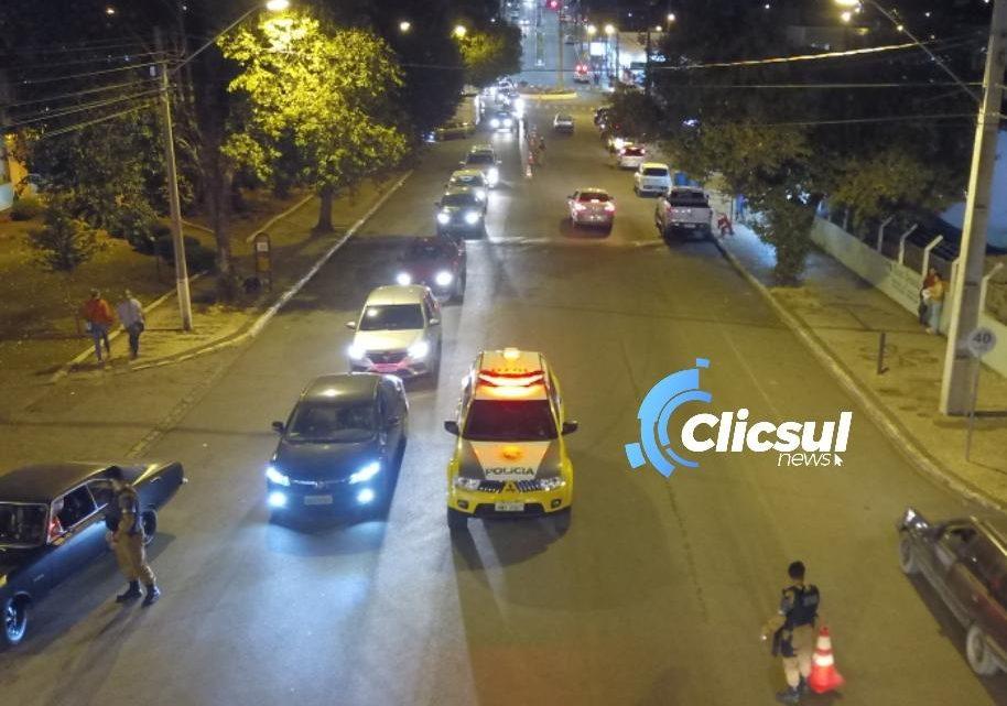 Policia Militar de São Mateus do Sul realiza operação da semana Nacional de Trânsito