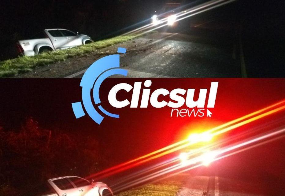 Bombeiros e PRE atendem acidente na PR 151