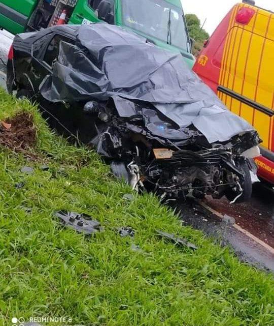 Grave acidente na BR 277 em Palmeira deixa dois óbitos e quatro feridos
