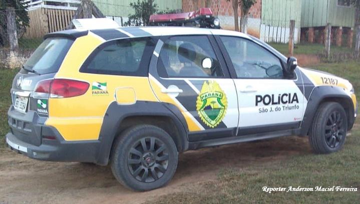 Veículo e furtado em São João do Triunfo