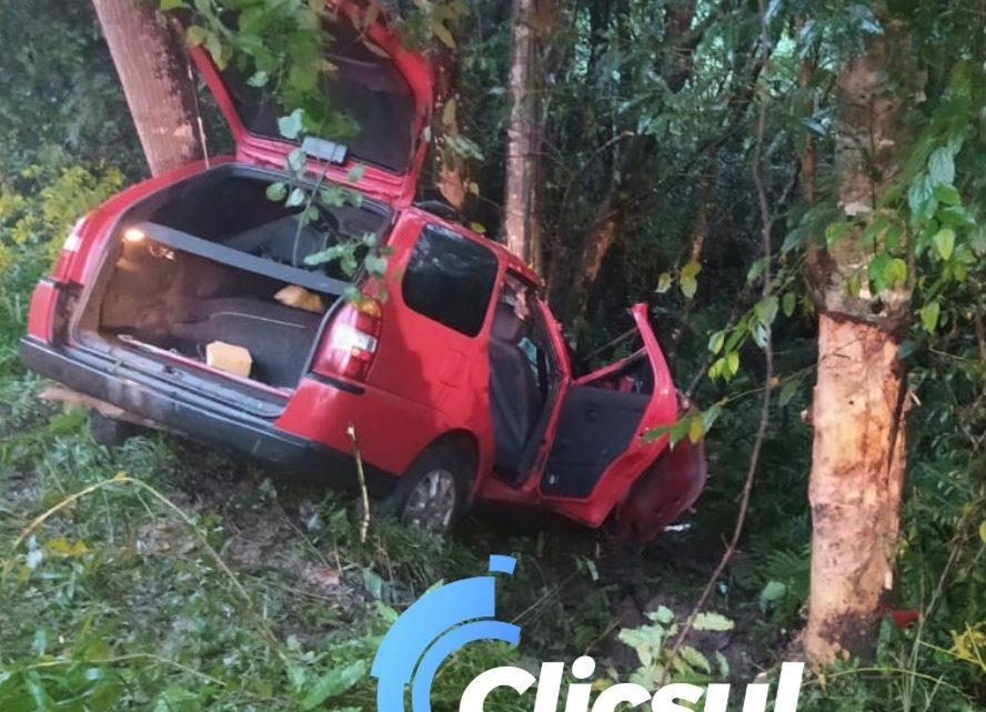 Acidente na BR 476 deixa um morto no trecho entre São Mateus e Lapa