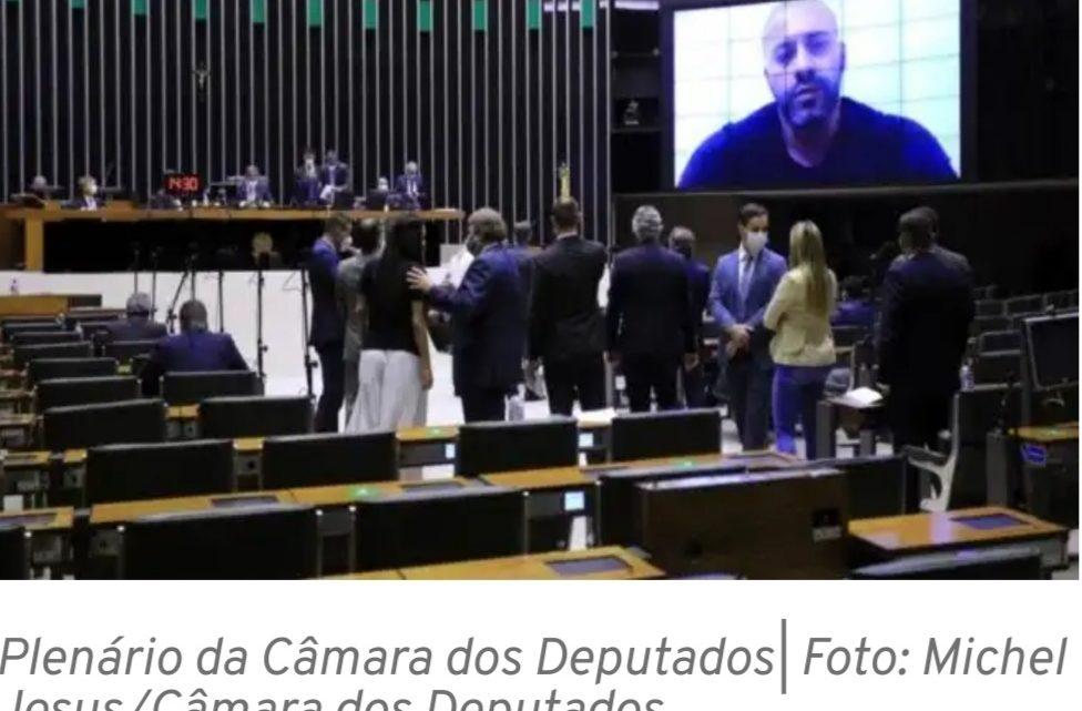 Confira como votaram dos deputados paranaenses sobre a manutenção da prisão do deputado Daniel Silveira