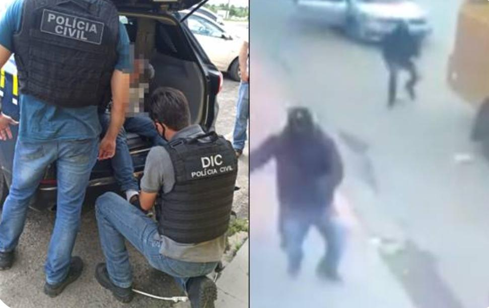 Envolvido no assalto a carro-forte em Três Barras é preso no Paraná