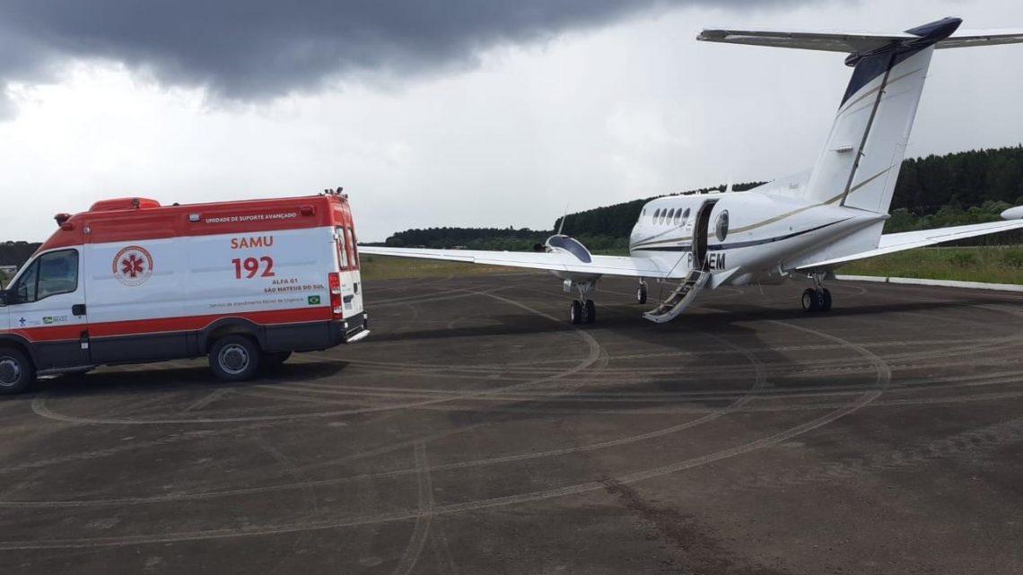 Deputado Bacil consegue com Governo Estadual transferir de avião jovem que sofreu acidente no Rio Grande do Sul