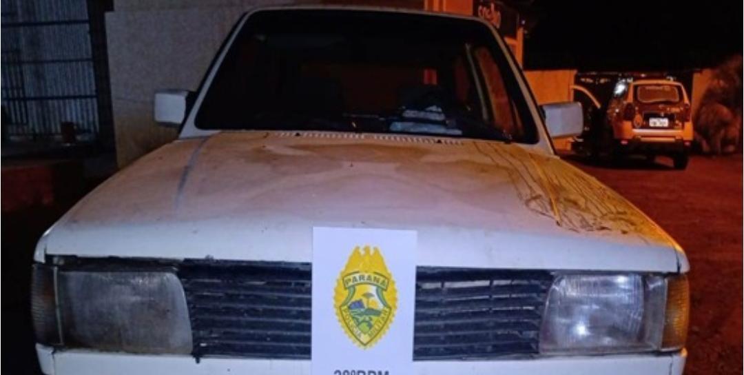 Veiculo furtado em São João do Triunfo é recuperado em Palmeira