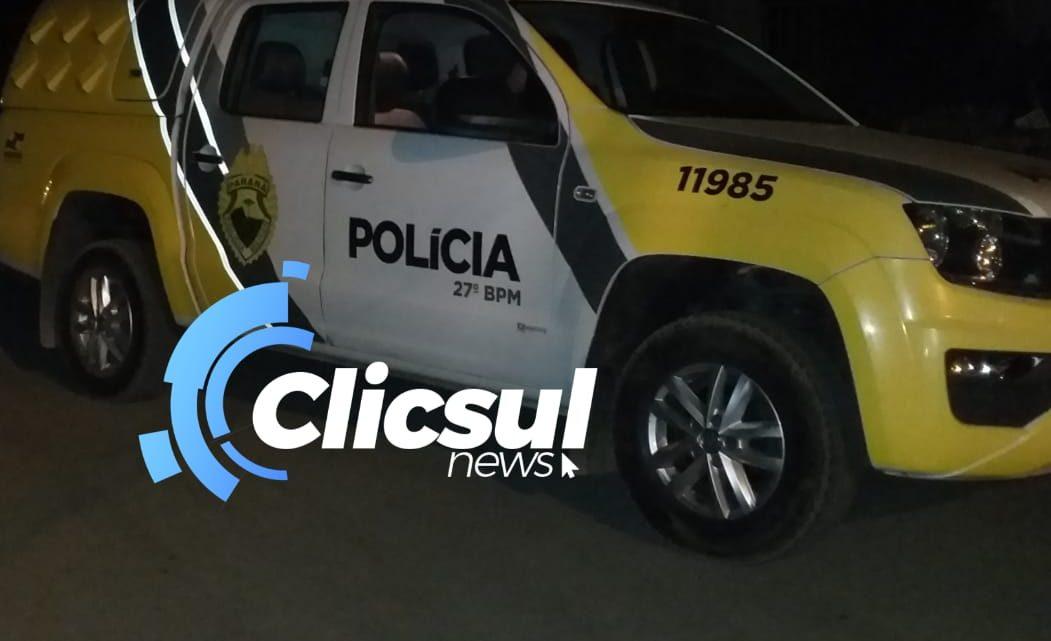 Homem é preso após agredir vizinha e a ameaçar de morte em São Mateus do Sul