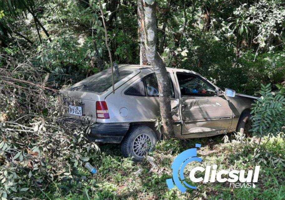 Bombeiros e PRF atendem acidente próximo a entrada da Incepa em São Mateus do Sul