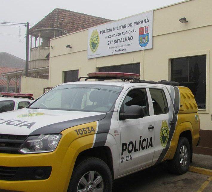 Estabelecimento é arrombado e furtado em São Mateus do Sul