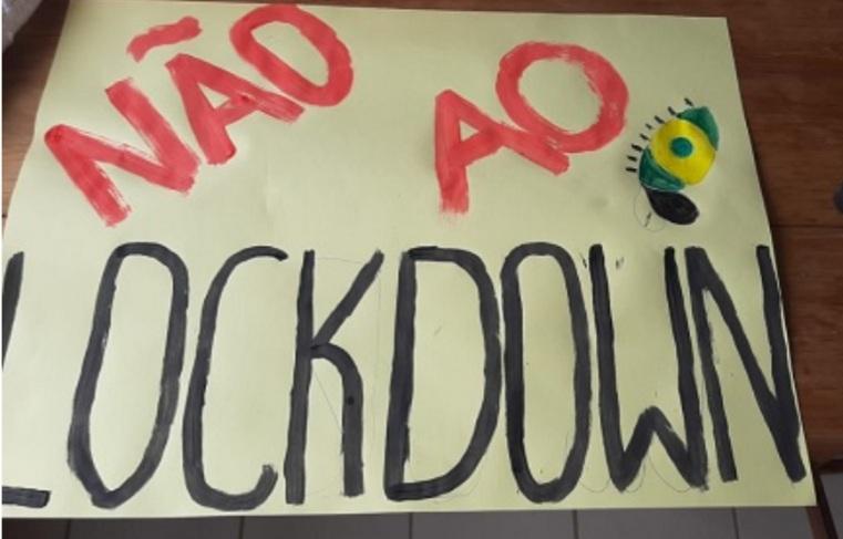 União da Vitória com manifestação contra lockdown neste domingo