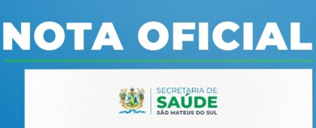 Nota de esclarecimento da Secretaria Municipal de Saúde de São Mateus do Sul com relação ao óbito no pronto atendimentos
