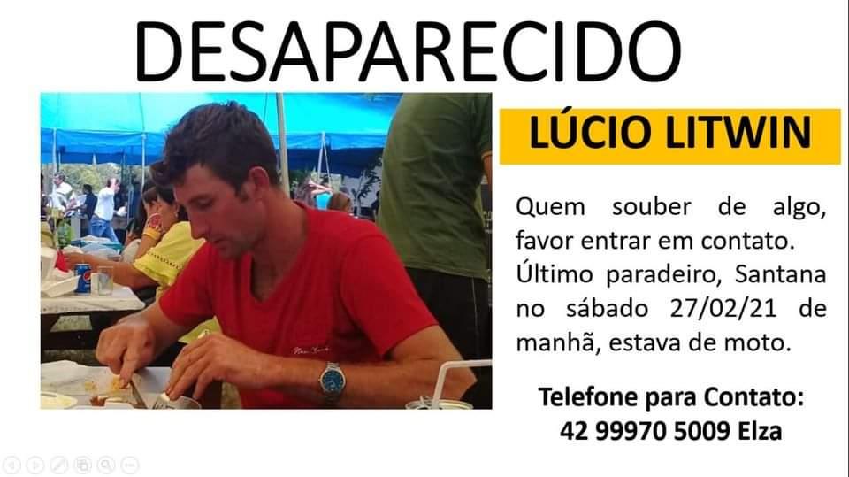 Morador de Cruz Machado está desaparecido