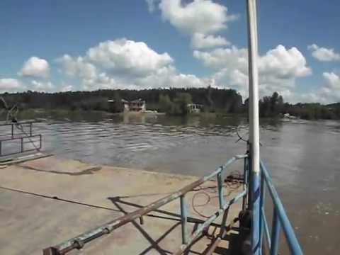 Homem bate a cabeça ao mergulhar da Balsa de Paula Pereira  no Rio Iguaçu divisa de São Mateus com Canoinhas