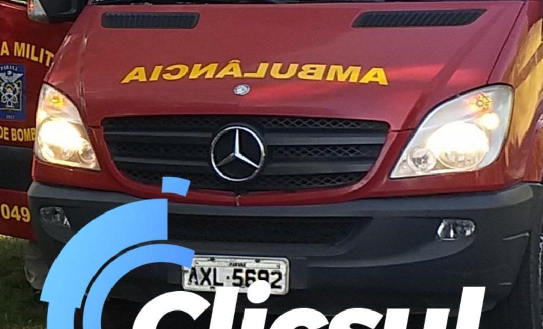 Bombeiros e PM atendem acidente envolvendo moto e carro na Vila Prohmam