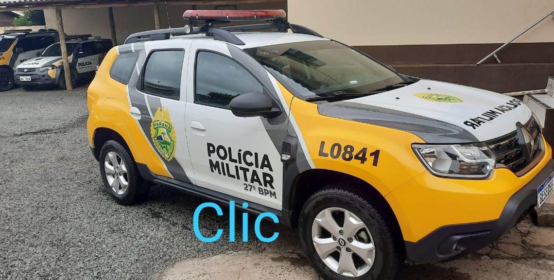PM atende homicídio no interior de São Mateus do Sul
