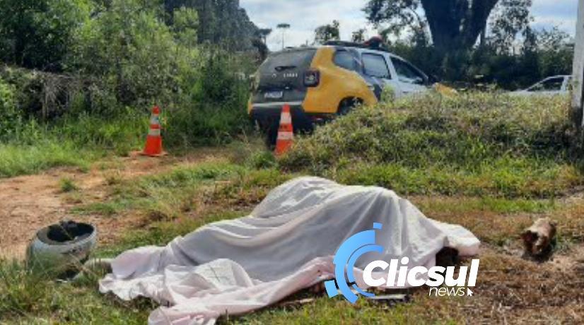 Foi identificado o rapaz vítima de homicídio em São Mateus do Sul