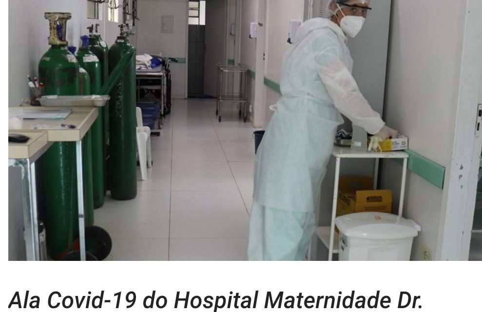 Hospital emite nota sobre o falecimento ocorrido na segunda feira do caso de Covid-19