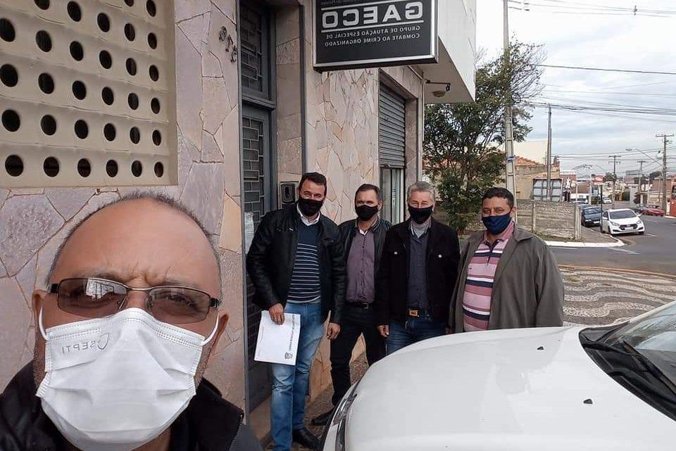 Vereadores de Paulo Frontin entregam relatório no Gaeco sobre desvio de dinheiro da Covid-19 no município