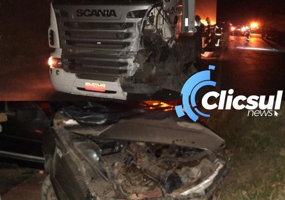 Homem perde a vida em grave acidente na BR 476 região do Limoeiro
