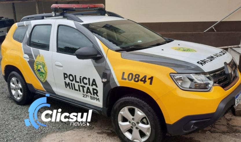 Homem com mandado de prisão em aberto é preso pela PM de São Mateus do Sul