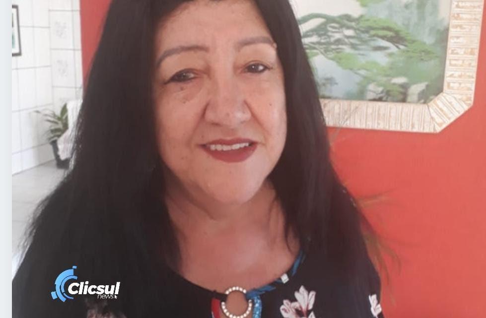 Neuza Ferreira Teixeira é a 59° vitima de Covid-19 que falece em São Mateus do Sul