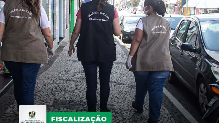 Vigilância sanitária e polícia militar fazem ação conjunta para fiscalização