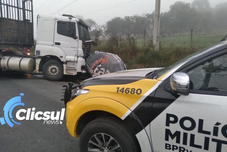Jovem de 29 anos perde a vida em grave acidente na PR 427 em Campo do Tenente