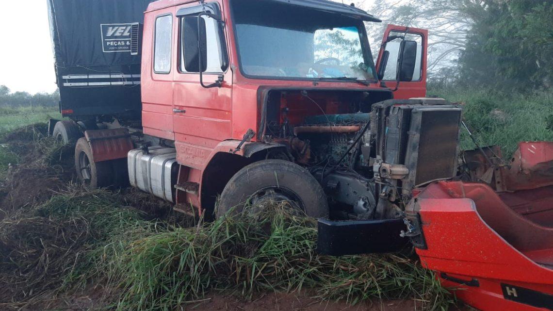 Acidente ocorrido na manhã de quinta-feira br-373 com vítima fatal