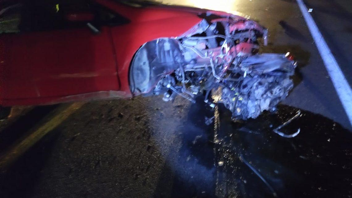 Duas pessoas morrem em acidente na BR 116 em Papanduva