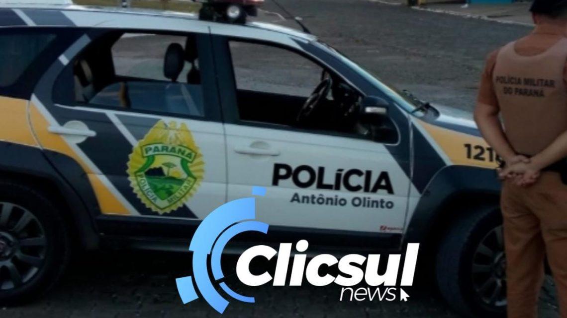 Em Antônio Olinto homem vai até em frente a uma residência danifica o local e faz ameaças