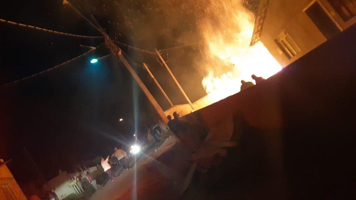 Policiais Militares de Rio Negro salvam idoso de incêndio criminoso e prendem neto da vitima por botar fogo na casa