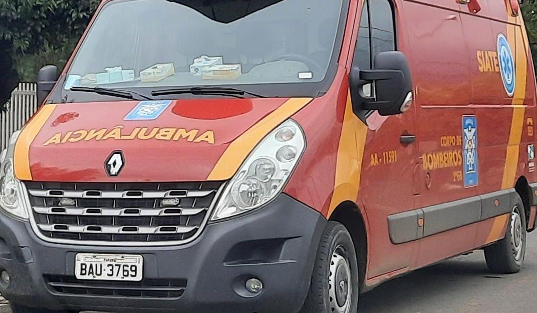 Jovem de 23 anos morre em São mateus do Sul e corpo é encaminhado para o IML de União da Vitória