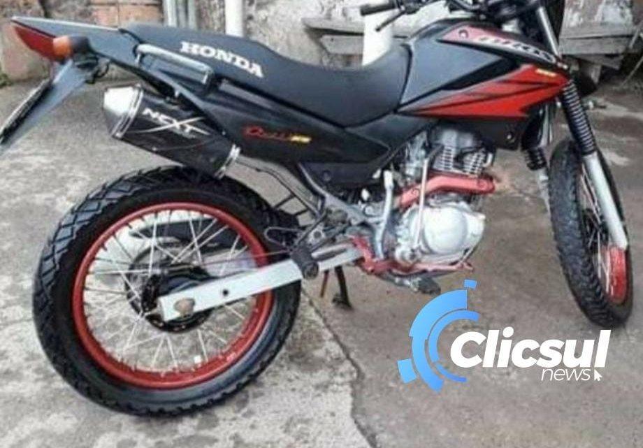 BPEC prende dois rapazes e recupera moto furtada em São Mateus do Sul