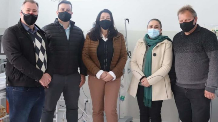 Deputado Bacil destina respiradores e monitores para saúde de São Mateus do Sul