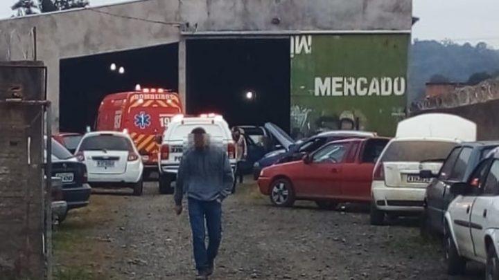 Rapaz de 21 anos é morto a tiros em Três Barras